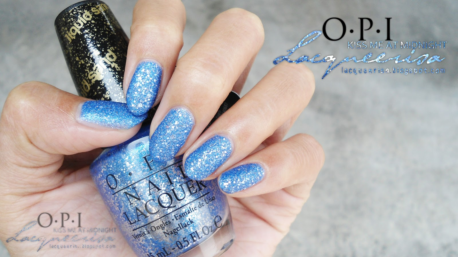 Lacqueerisa: OPI Kiss Me At Midnight