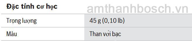 Thông số kỹ thuật vòng cổ cảm ứng từ HDP‑ILN