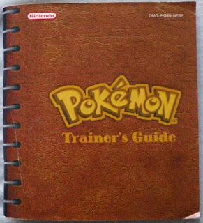 Pokemon Edición Roja - Manual portada