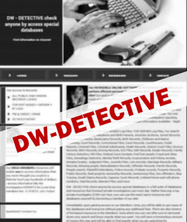 Deep Web : DW-DETECTIVE 'Check Anyone by Access Special Databases'