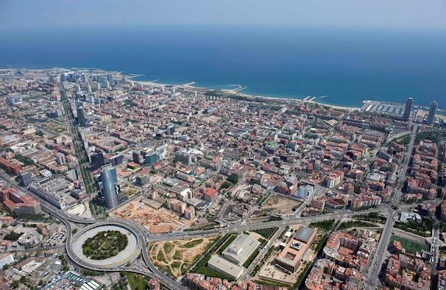 Cidade de Barcelona atualmente