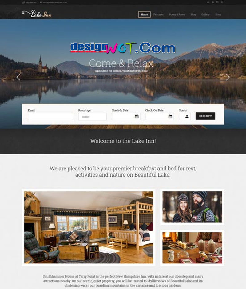 LakeInn - Inns, Hotels and Resorts Theme