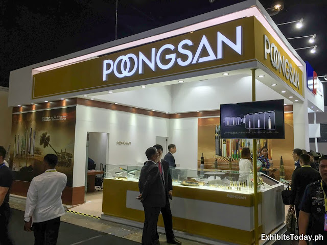 Poongsan Trade Show Display