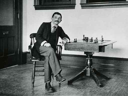 Emanuel Lasker © Cleveland Public Library