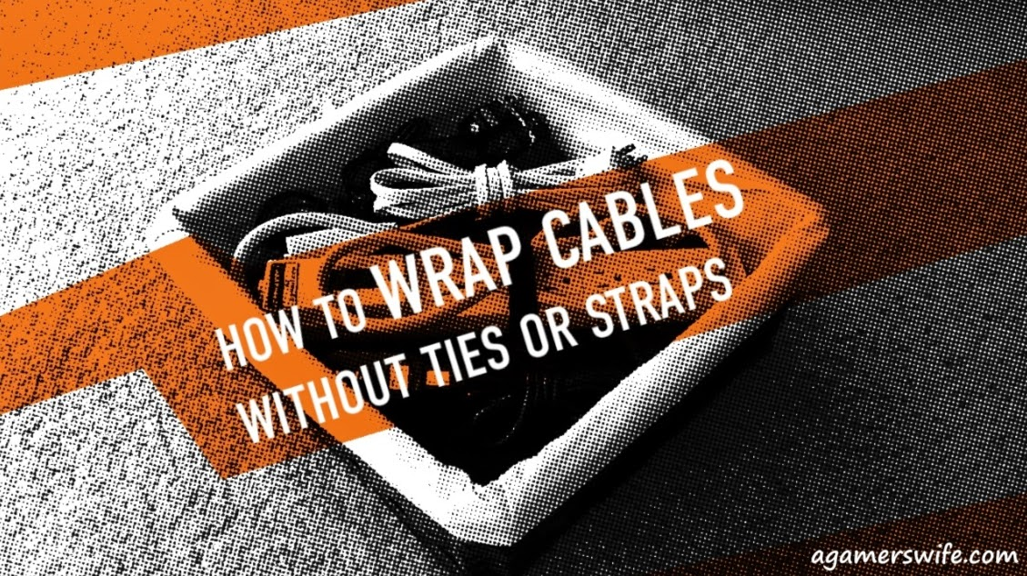 How to wrap cables without ties or straps