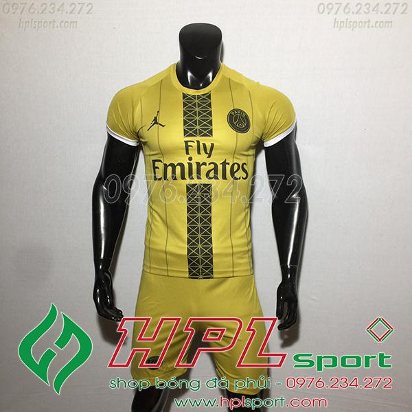 Áo bóng đá câu lạc bộ PSG màu đồng