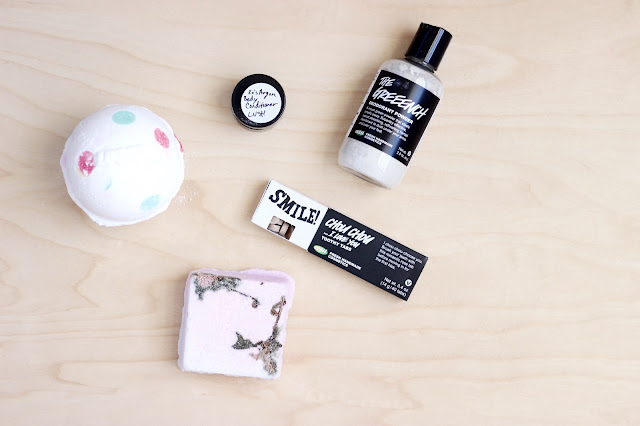 A Few Things I Picked Up From Lush