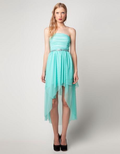 vestido juvenil celeste