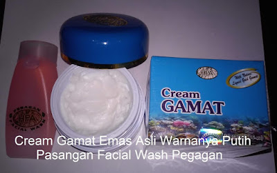 Cream Gamat Emas Pemutih Wajah Harga Murah