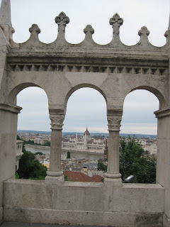 View of the Parliament Building from Fishermen's Bastion