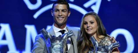 Cristiano Ronaldo Named As UEFA's Player of Year While Lieke Martens Won the Women's Prize – UEFA 2017 Awardees