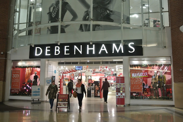 Debenhams in The Bridges Sunderland Christmas Gifts 2016
