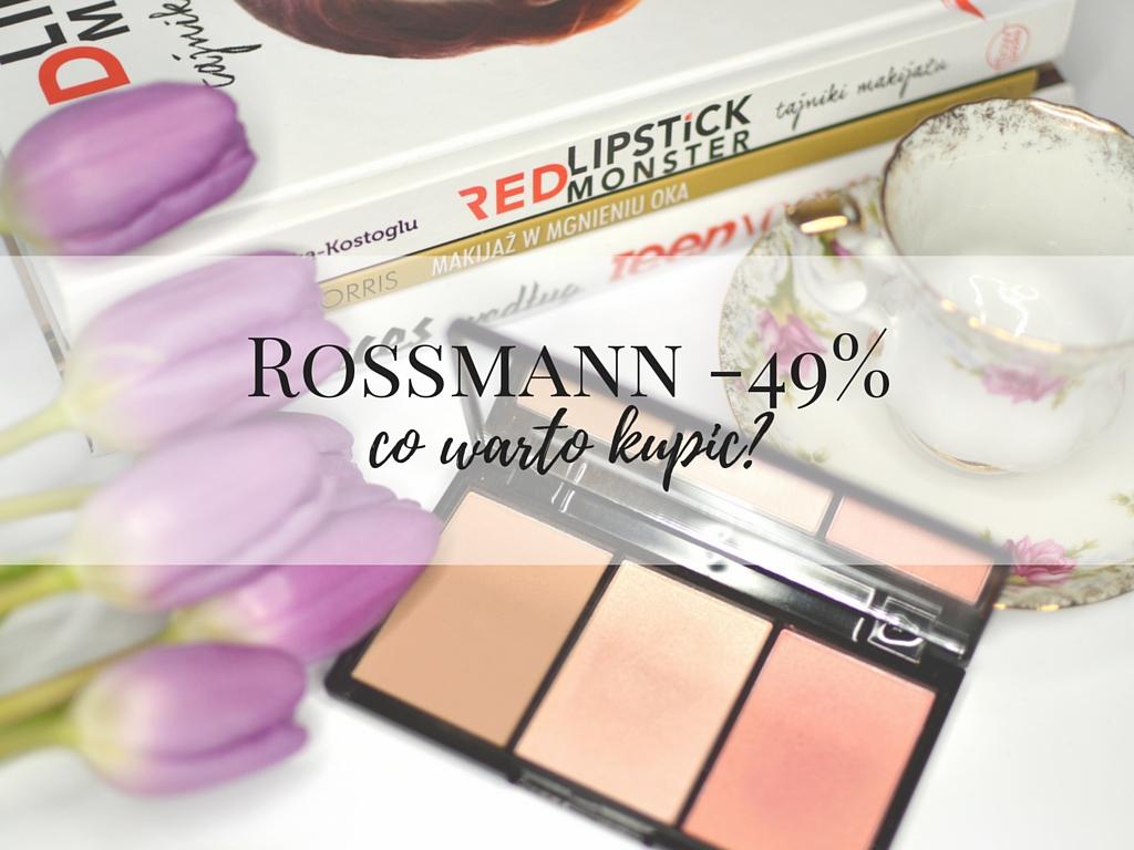 rossmann -49% promocja