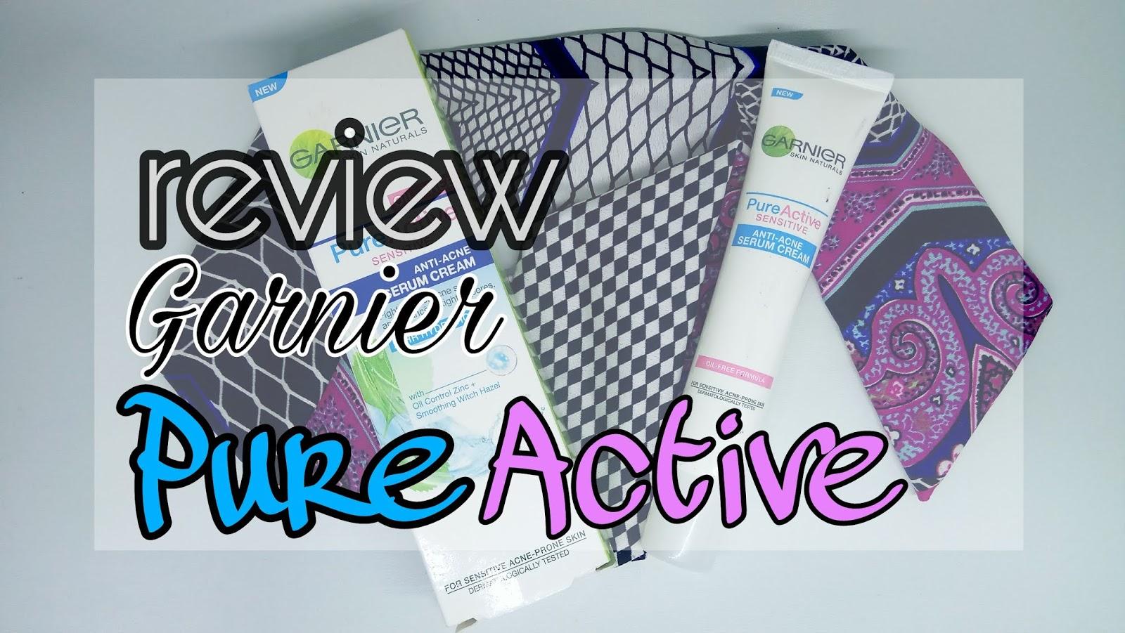 REVIEW] Kontrol Jerawat dengan Garnier Pure Active Anti-Acne