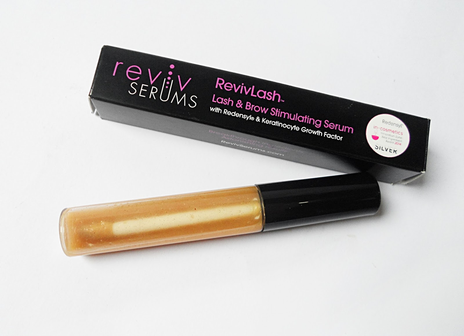blogger liz breygel revivlash serum for brows and eyelashes reults before after pictures review