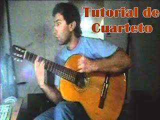 rasgueo de guitarra, acustica o criolla, como tocar cuarteto