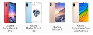 Asus meluncurkan beberapa tipe smartphone Asus Zenfone Max Pro (ZB602KL) vs Xiaomi Tipe Apa?