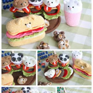 Mini Donut Crochet Pattern | Crochet keychain pattern, Crochet ... | 300x300
