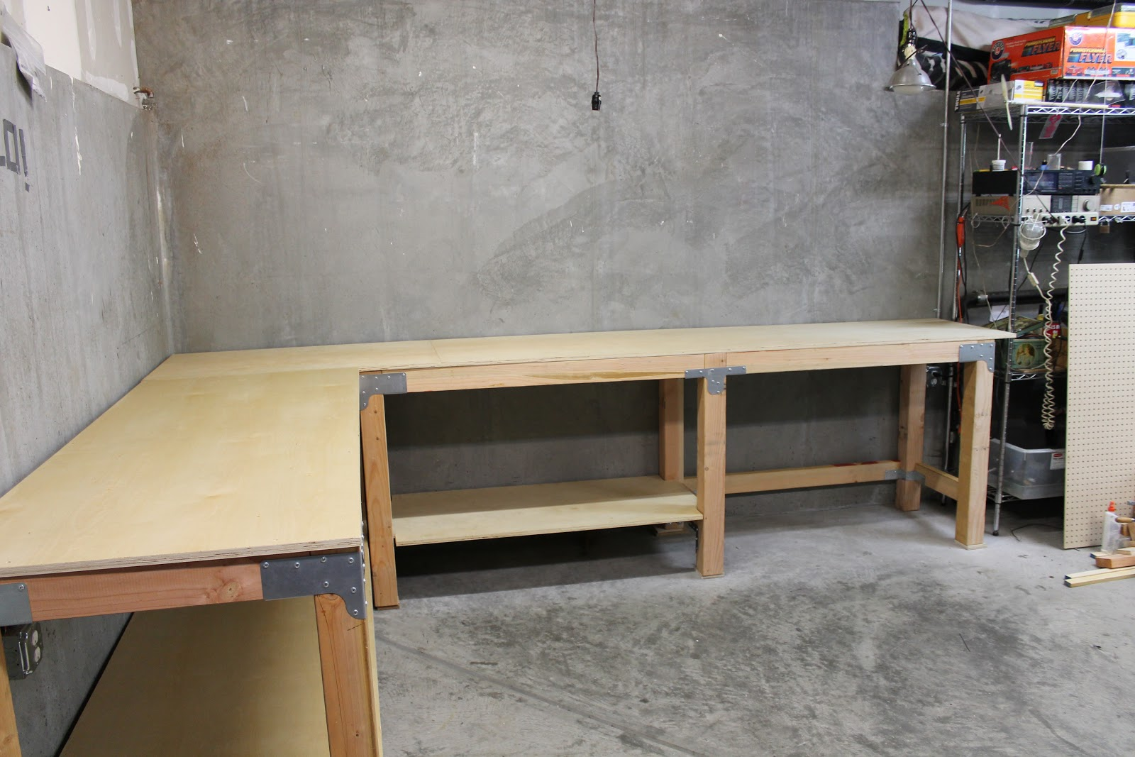 Ordinaire Finished: The Garage Work Table