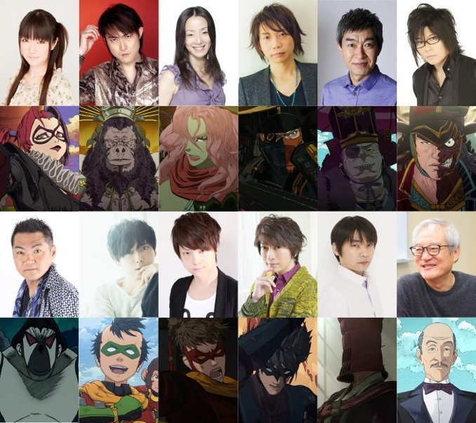 Batman Ninja anime cast