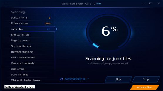 Advanced SystemCare 10.0.3.6 Screenshot 3