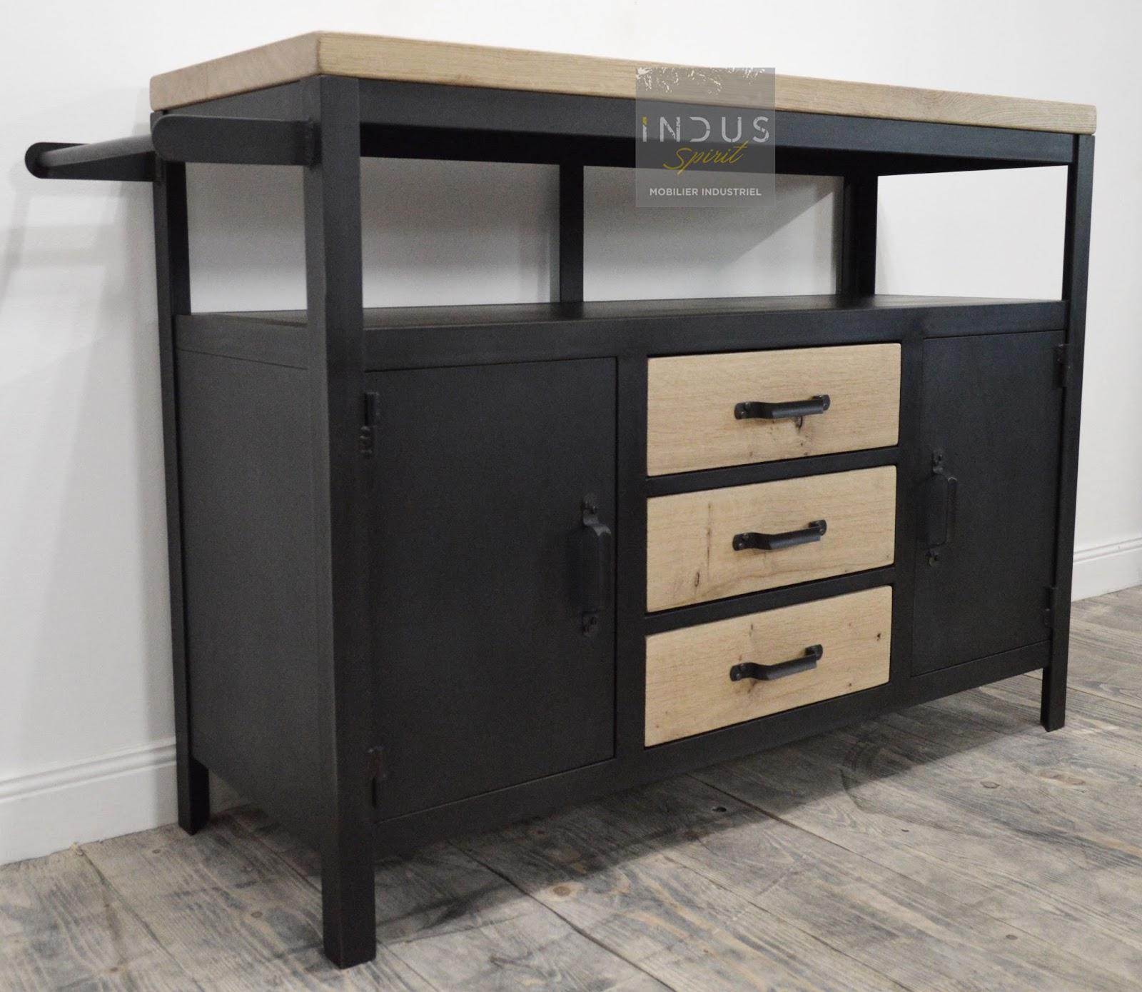 Salle De Bain Industrielle meuble industriel / décoration industrielle / meuble de