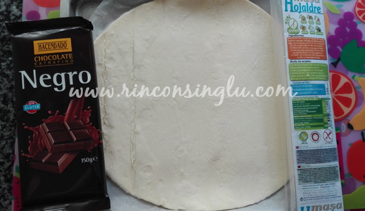 Ingredientes Trenza de chocolate sin gluten