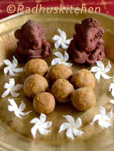 Pasi paruppu laddu-Moong dal laddu