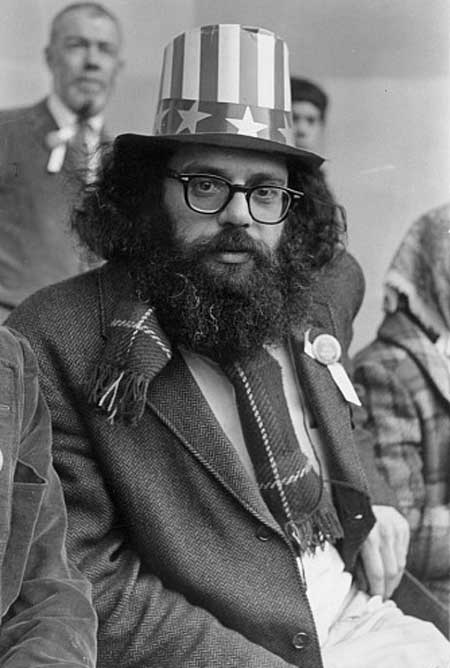 allen ginsberg s uncle sam hat the allen ginsberg project