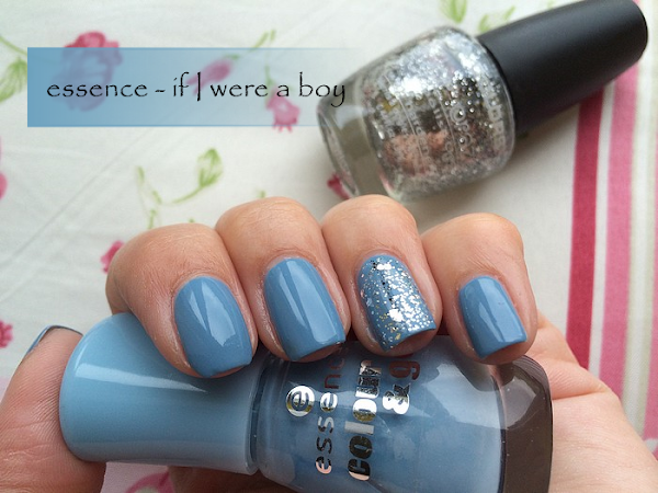 ♥ essence - if I were a boy & glitter ♥