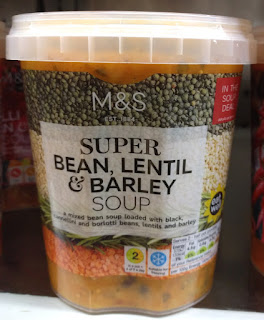 M&S Super bean, lentil & barley Soup