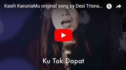 "Proses pembuatan lagu Rohani ""Kasih Karuniamu"" oleh Desi Trisnawati"