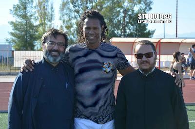 Ο Ντάνιελ Μπατίστα στον αγιασμό των ακαδημιών ποδοσφαίρου της Αναγέννησης Αγίου Αδριανού (βίντεο)
