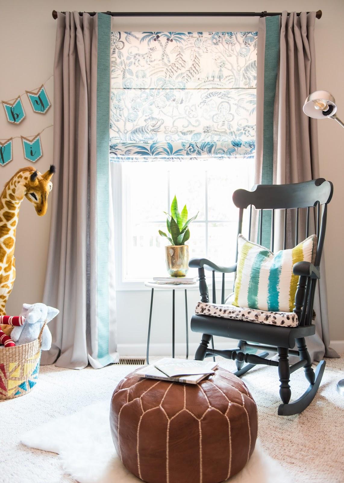 Giraffe, Congo Blues, Clarence House, Moroccan Ottoman