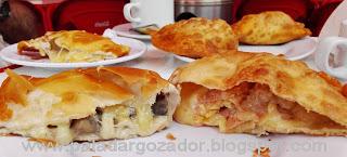 Las Deliciosas empanadas fritas champiñones machas