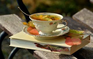 jesienna herbatka