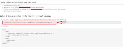 Cara mendaftarkan dan Submit blog ke Bing webmaster tool