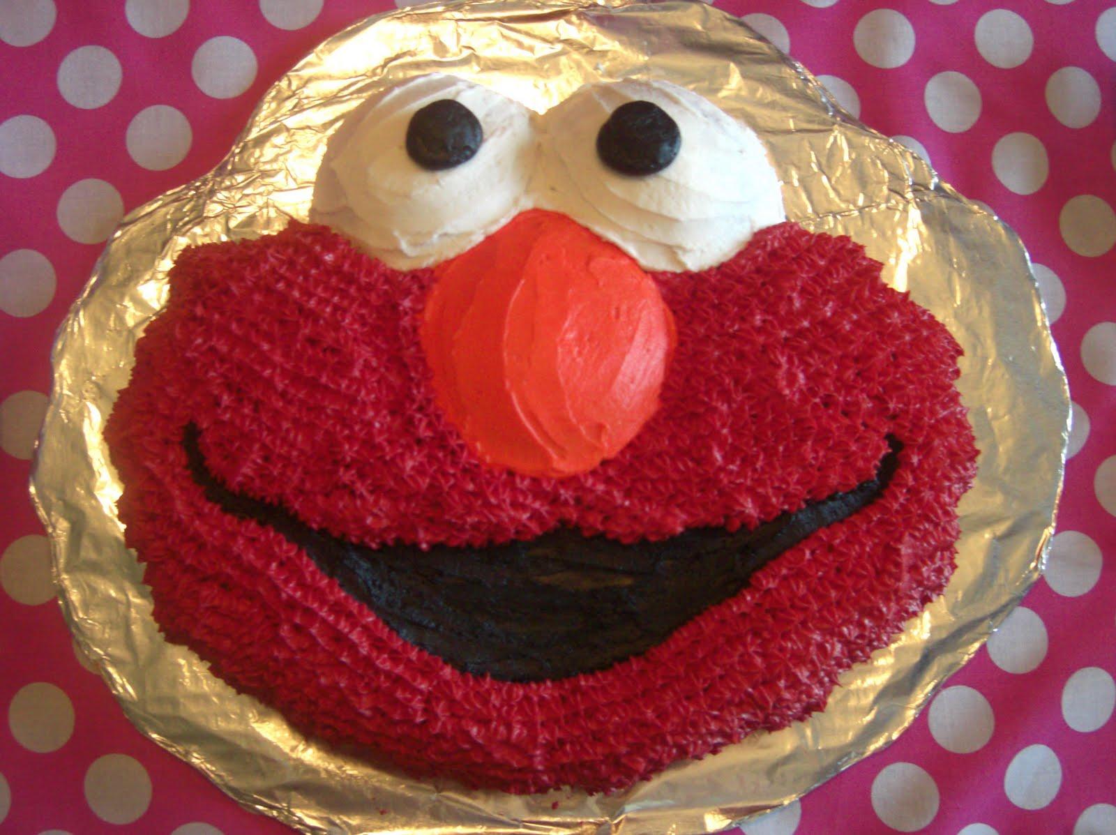 I think i can modify my elmo cake skills and make it a
