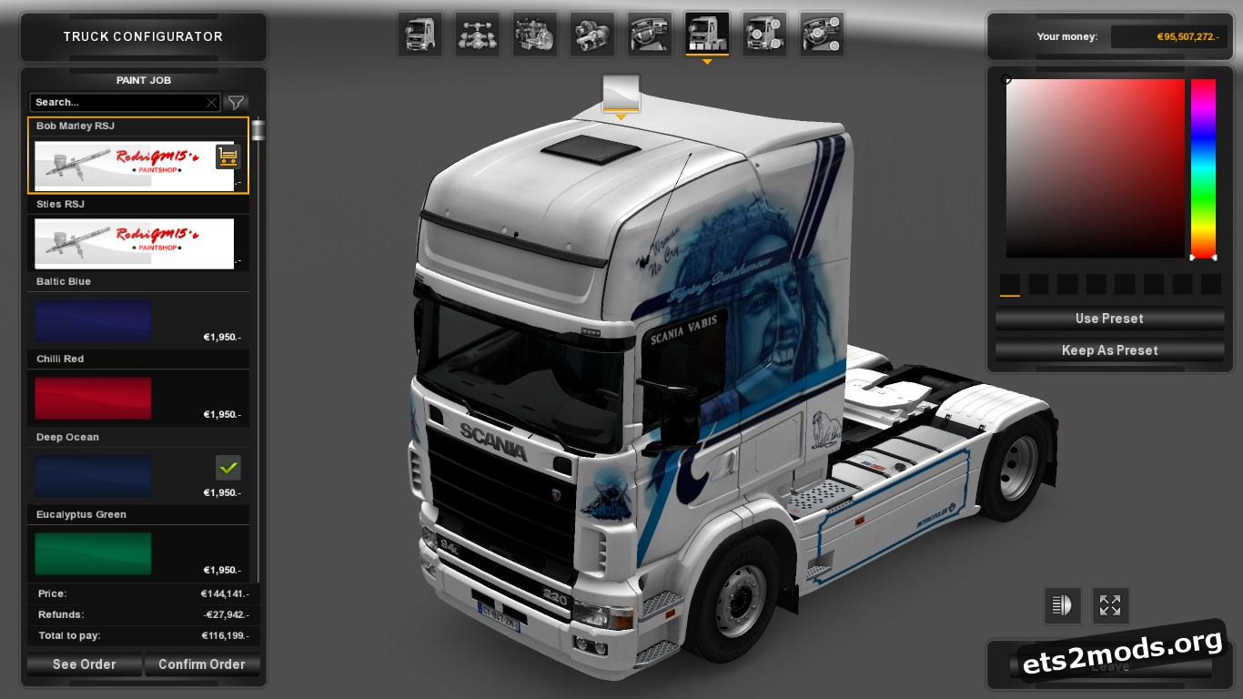 Skin Pack for Scania 4 Series