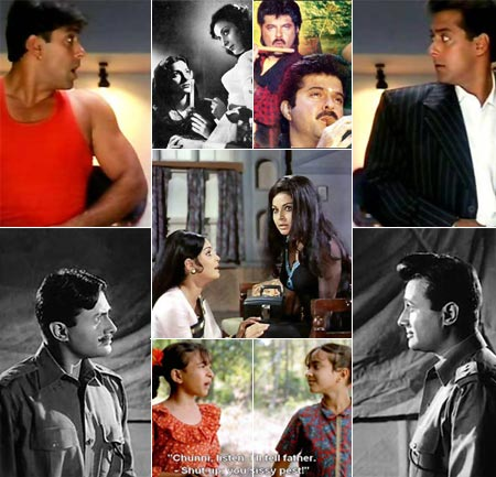 Golden Era of Bollywood: Double Roles in Hindi Cinema