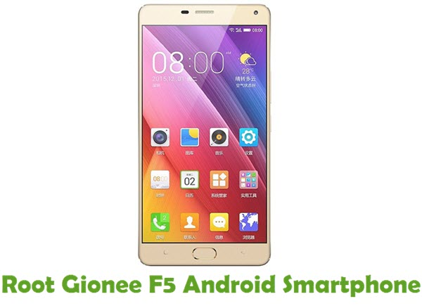 How To Root Gionee F5 Android Device
