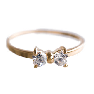 ILY Couture Mini Bow Ring