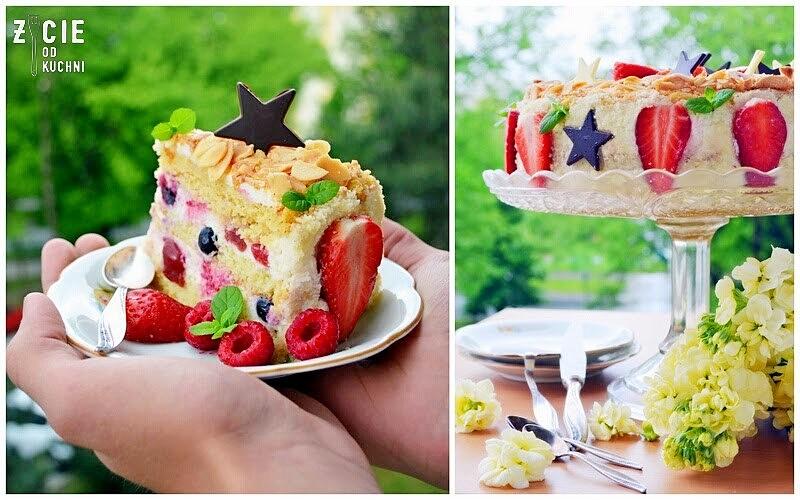 tort owocowy, tort urodzinowy, sezonowe przepisy, lipiec, lipiec wkuchni, warzywa sezonowe lipiec, lipiec owoce sezonowe lipiec, lipiec warzywa sezonwe, sezonowa kuchnia, sezonowosc, zycie od kuchni, lipiec zestawienie przepisow