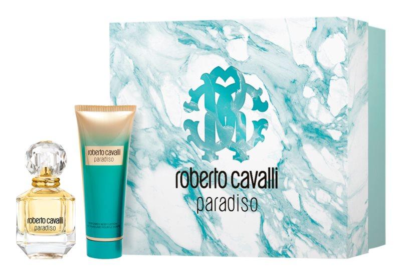 Roberto Cavalli Paradiso set cadou III. pentru femei pret mic oferta