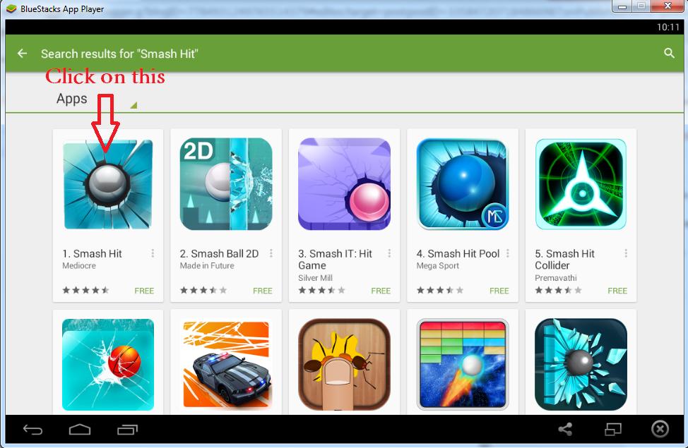 Download Smash Hit Game For PC ( Windows 7,8,8.1) Free