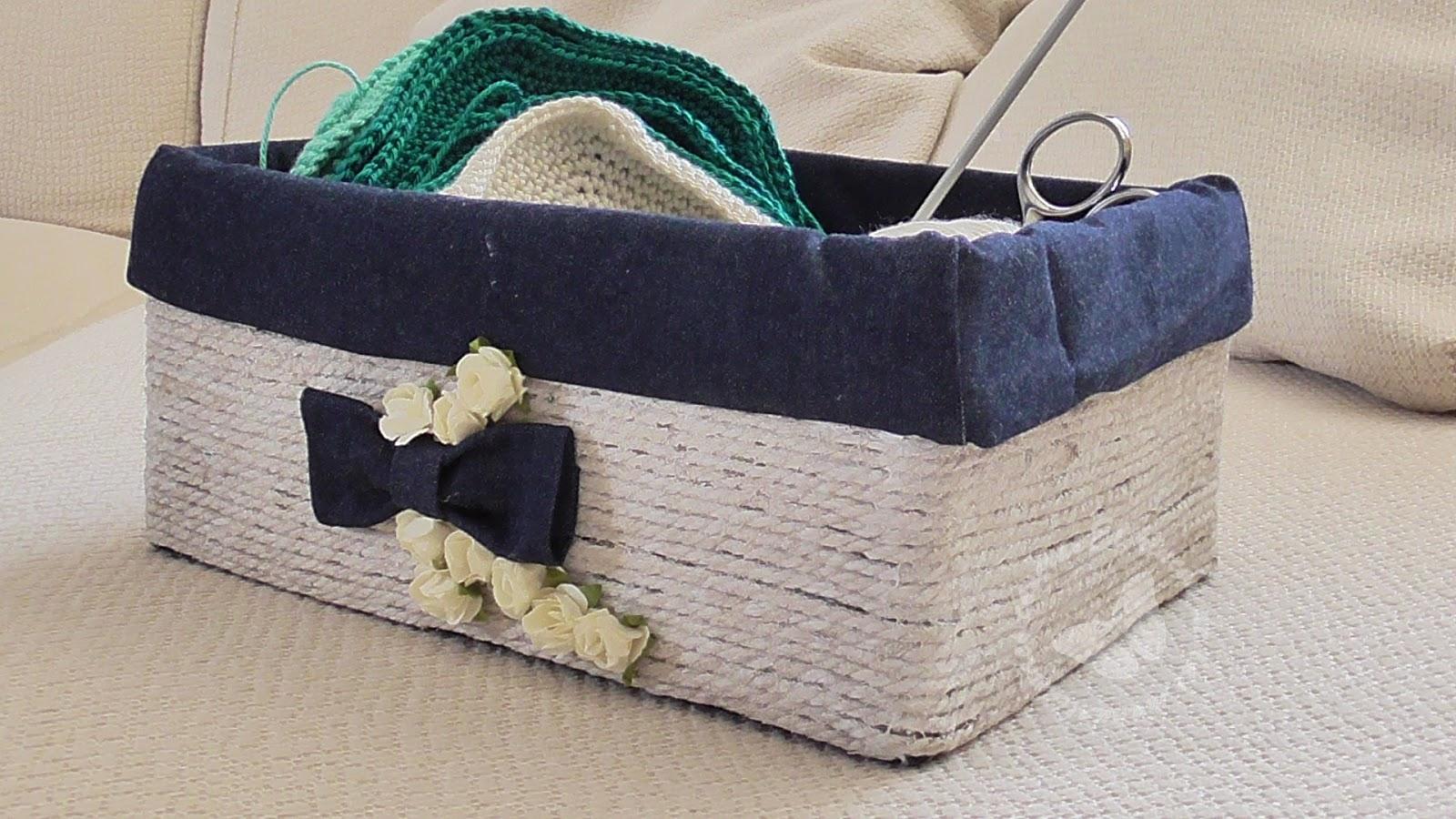 El rincn de las manualidades caseras Cmo decorar una caja de