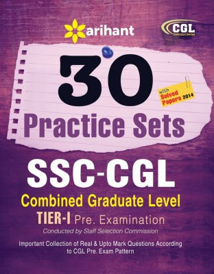 30 Practice Sets SSC Combined Graduate Level Pre. Examination (English) 4th Edition