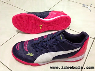 Sepatu Futsal Puma Evopower Navy