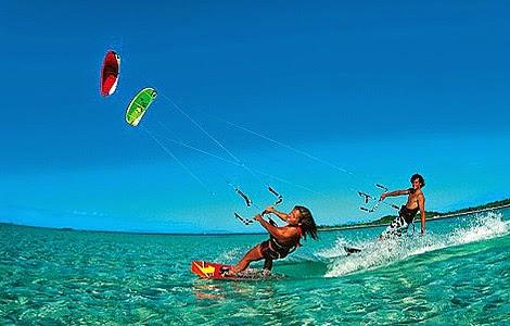 Kitesurf relax