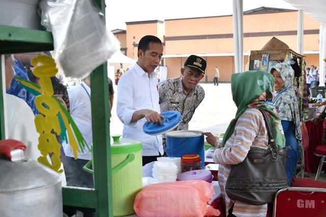 Jokowi beberkan Resep Sukses Usaha dari Pinjaman